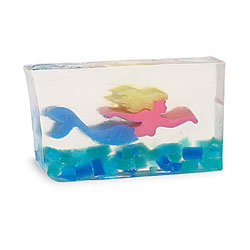 Primal Elements Handmade Glycerin Soap, Mermaid