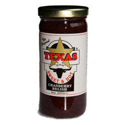 Taste of Texas Sweet and Hot Cranberry Relish