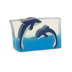 Primal Elements Handmade Glycerin Soap, Dueling Dolphins