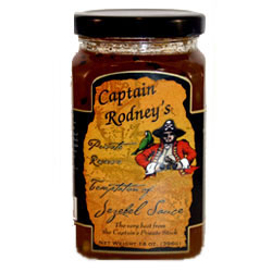 Captain Rodneys Private Reserve Temptation of Jezebel Sauce