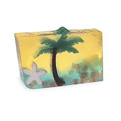 Primal Elements Handmade Glycerin Soap, Paradise Sunset
