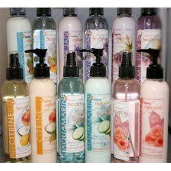 TS Pink Body Lotions and Body Sprays