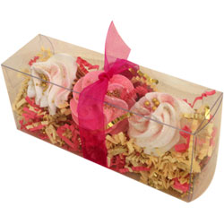 Cupcake Bath Bombs - Queen of the Tub Gift Set