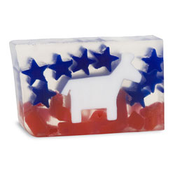 Primal Elements Handmade Glycerin Soap, Democrat