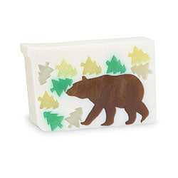 Primal Elements Handmade Glycerin Soap, Ginger Bear