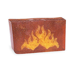 Primal Elements Handmade Glycerin Soap, Flames