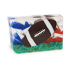 Primal Elements Handmade Glycerin Soap, Football