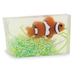 Primal Elements Handmade Glycerin Soap, Clownfish
