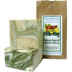 Milk & Mint Handmade Soap