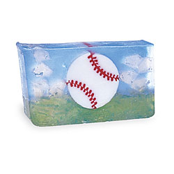Primal Elements Handmade Glycerin Soap, Baseball