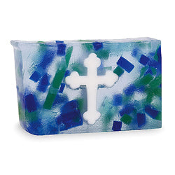 Primal Elements Handmade Glycerin Soap, Cross