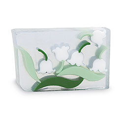 Primal Elements Handmade Glycerin Soap, Lily of the Valley
