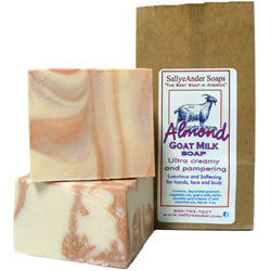 Almond Goat Milk Handmade Soap