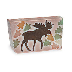 Primal Elements Handmade Glycerin Soap, Chocolate Moose