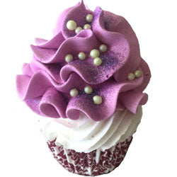 Cupcake Bath Bomb - Plum Fig