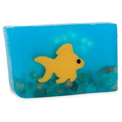 Primal Elements Handmade Glycerin Soap, Ginger Fish