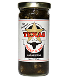 Taste of Texas Sweet and Hot Jalapenos