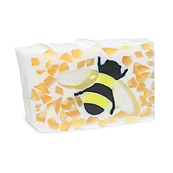 Primal Elements Handmade Glycerin Soap, Honey Bee
