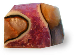 Amethyst Geode Soap Rock