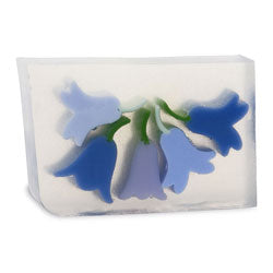 Primal Elements Handmade Glycerin Soap, Blue Bells