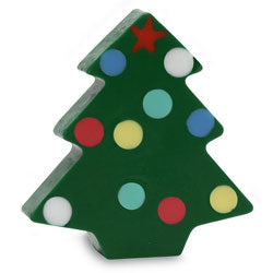 Primal Elements Handmade Glycerin Soap, Christmas Tree