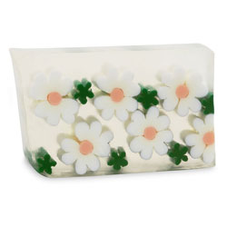 Primal Elements Handmade Glycerin Soap, Daisy