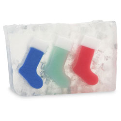 Primal Elements Handmade Glycerin Soap, Christmas Stockings