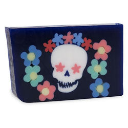 Primal Elements Handmade Glycerin Soap, Sugar Skull