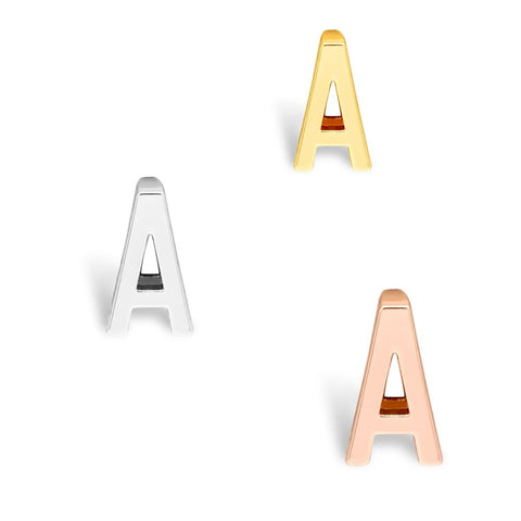 Buchstaben Charms - A / Rosegold - Charms