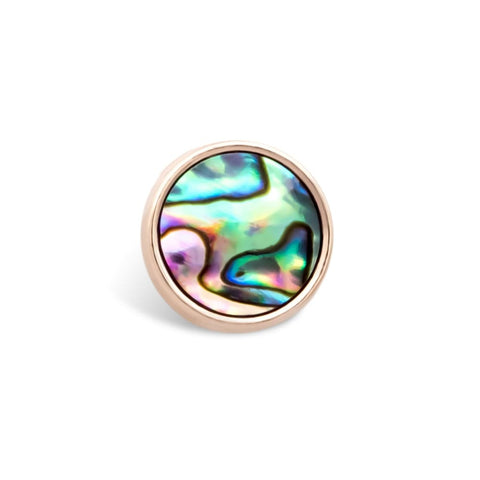 Charm Abalone Muschel - Rosegold - Charms