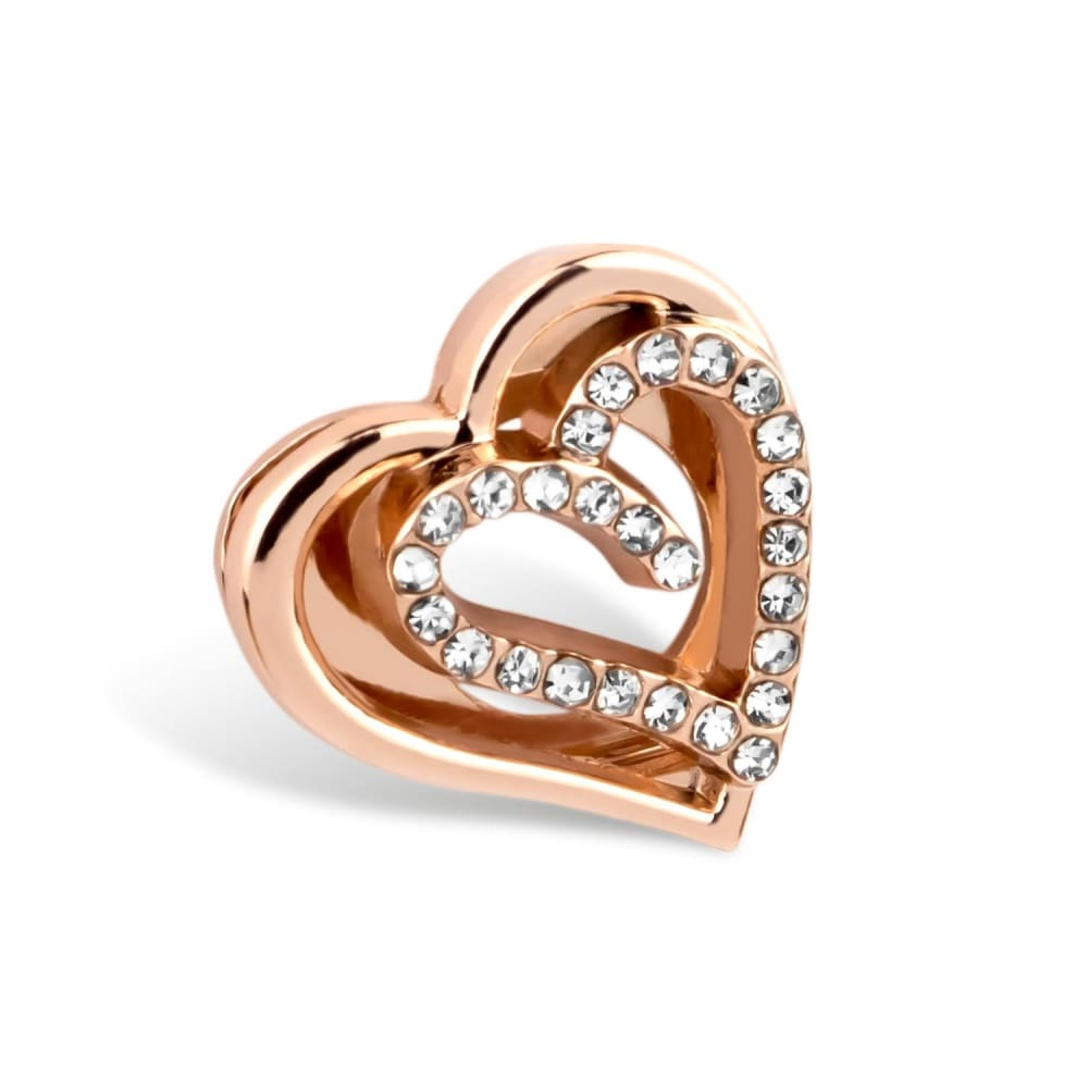 Charm Diamantherz - Rosegold - Charms