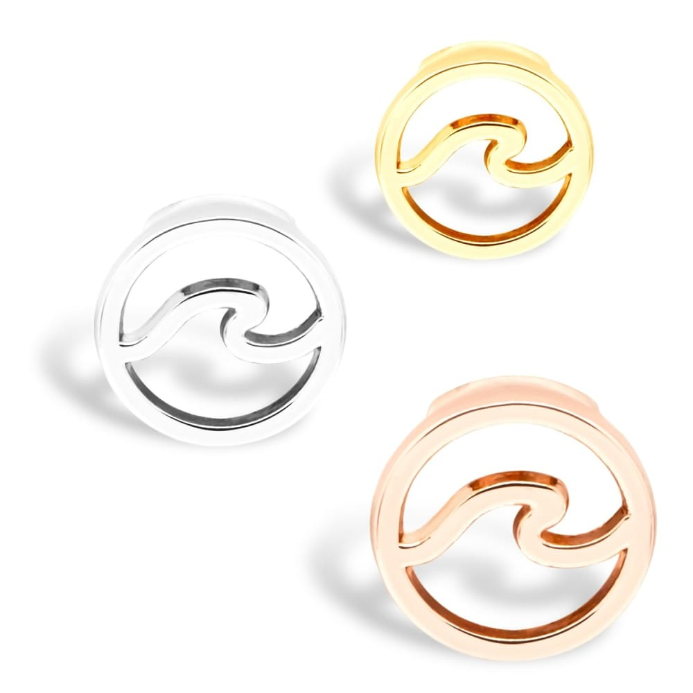 Charm Waves - Silver - Charms