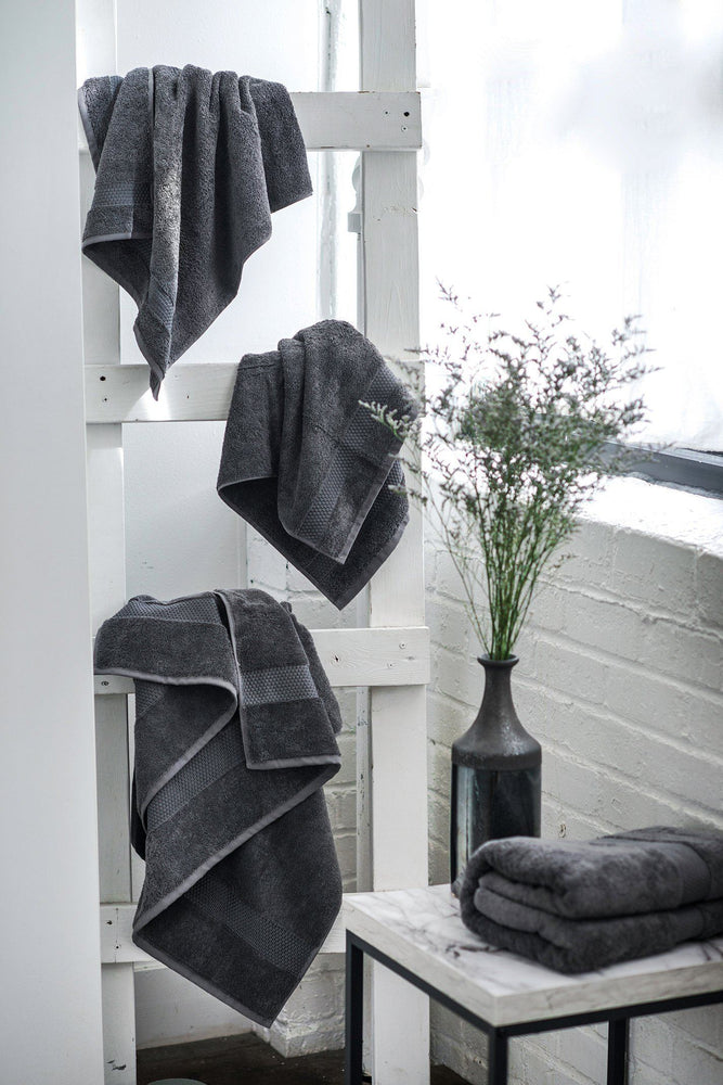 Load image into Gallery viewer, Set of 7 Towels (slate) - Lincove