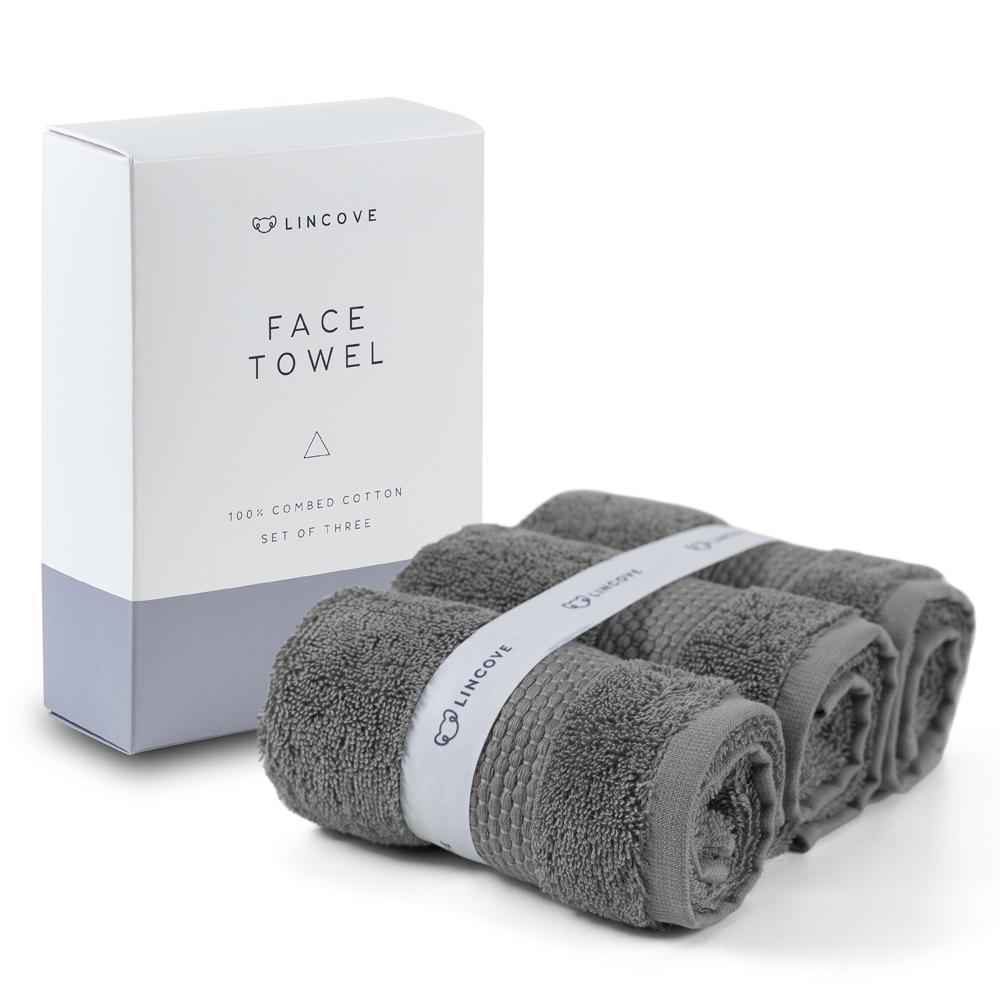 Face Towel - Set of 3 - Lincove