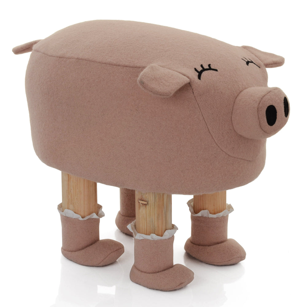 Pauline The Piggy Stool - Lincove
