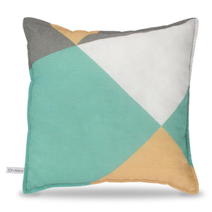 Geometric Print Square Pillow - Lincove