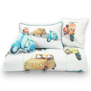 Vintage Car Bedding Set - Lincove