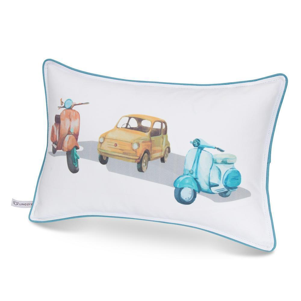 Vintage Cars Print Pillowcase - Lincove
