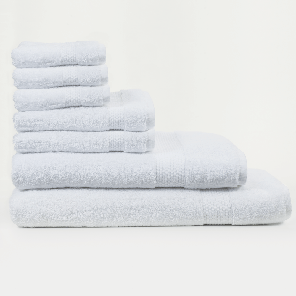 Load image into Gallery viewer, Set of 7 Towels (white) - Lincove