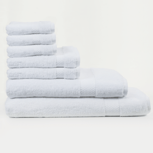 Set of 7 Towels (white) - Lincove