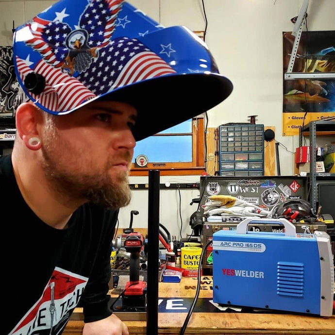 #WhyWeWeld: James West