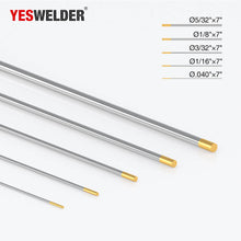 Load image into Gallery viewer, 1.5% Lanthanated Tungsten Electrode (Gold, WL15) | YesWelder®TIG Welding Electrode - YesWelder