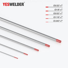 Load image into Gallery viewer, 2% Thoriated Tungsten Electrode (Red,WT20) | YesWelder TIG Welding Electrode - YesWelder
