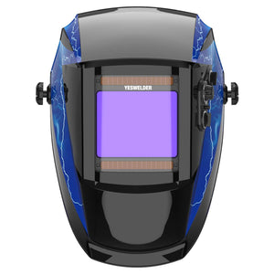 Solar Powered Auto-Darkening Welding Helmet | 091XL - YesWelder