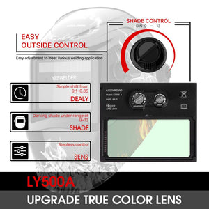 True Color Welding Mask-YesWelder-Best-Welding-Helmet