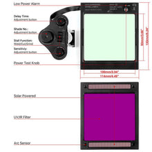 Load image into Gallery viewer, Auto Darkening Large View Welding Helmet | M800HP-A - YesWelder