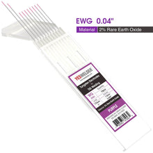 Load image into Gallery viewer, Rare Earth Tungsten Electrode (Purple, EWG) | YesWelder® TIG Welding Electrodes - YesWelder