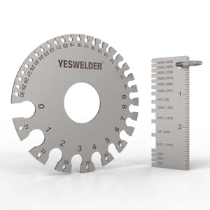 Stainless Steel Welding Gauge,LG-03 | Welding Inspection Tool | YesWelder® Welding Supply Store - YesWelder