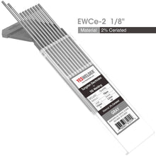 Load image into Gallery viewer, 2% Ceriated Tungsten Electrode (Grey,WC20) | YesWelder® TIG Welding Electrode - YesWelder