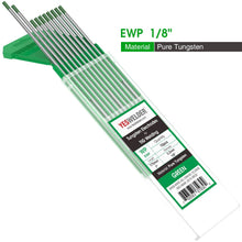 Load image into Gallery viewer, Pure Tungsten Electrode (Green, WP) | YesWelder® TIG Welding Electrode - YesWelder